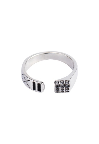 A-Excellence silver Premium S925 Sliver Geometric Ring 7FE40AC3503E0EGS_1