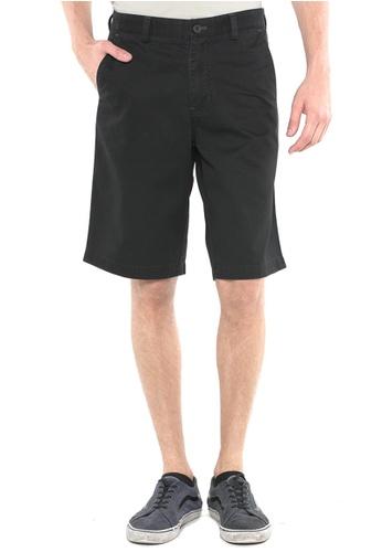 POLO HAUS black Polo Haus - Short Pant (Black) PO783AA22FUNMY_1