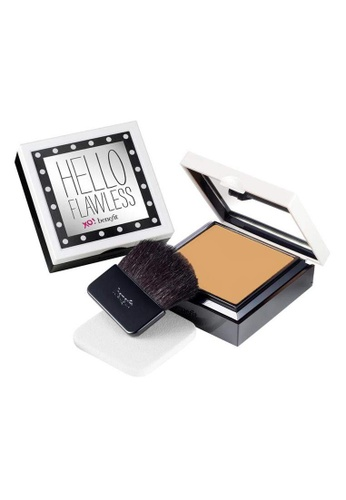 Benefit Hello Flawless! Powder Foundation - Toasted Beige BE433BE0FLRCSG_1
