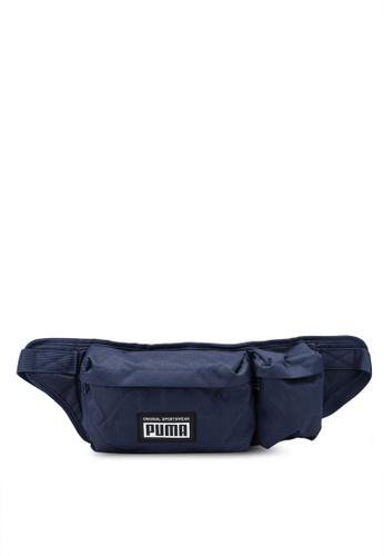 puma navy Academy Multi Waist Bag 79319AC89647DFGS_1