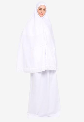 Najjah white Aminah Pocket Telekung 98E0FAA919716CGS_1