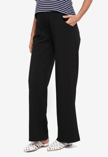 JoJo Maman Bébé black Maternity Classic Trousers 80AE5AAA2D0A91GS_1