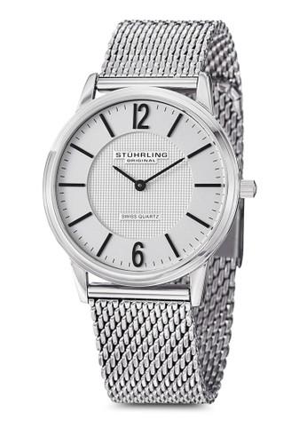 Somerset Elite 金esprit hk分店屬圓框手錶, 錶類, 不銹鋼錶帶