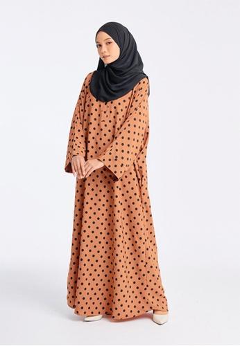 Imaan Boutique black Yoori Kaftan 2.0 Luna 23A12AABC9A45FGS_1