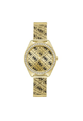 Guess Watch gold Guess Jam Tangan Wanita Analog W1279L2 C1FBDACCDD1AC6GS_1