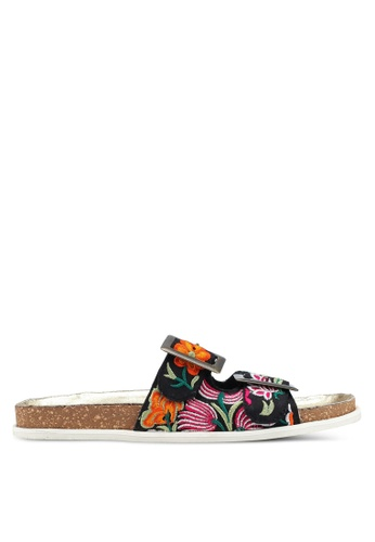 Free People black Bali Footbed Sandals 7ABC8SHE299DFEGS_1
