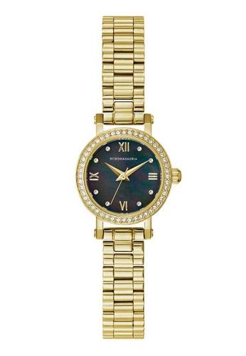 BCBG gold BCBGMAXAZRIA Gold Stainless Steel Watch E81A4AC28F9000GS_1