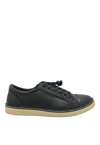 Hush Puppies navy Hush Puppies Rickman Lace Up In Navy 6E3F2SH4AA6C78GS_1