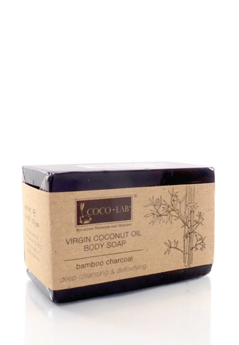 COCOLAB COCOLAB VCO Body Soap Bamboo Charcoal CO193BE17LXUMY_1