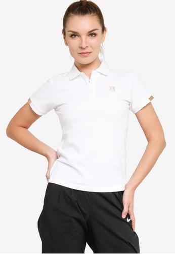 361° white Sports Life Polo Shirt 96E85AA4BAE774GS_1