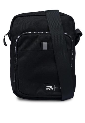 Anta black KM Satchel Sling Bag F62ABAC33A7A5EGS_1