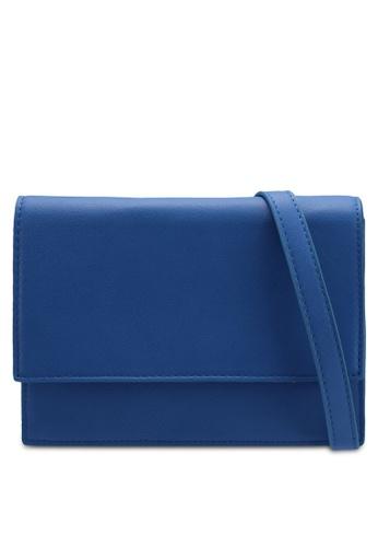 Pieces blue Miriam Crossbody Bag 92478AC4048C77GS_1
