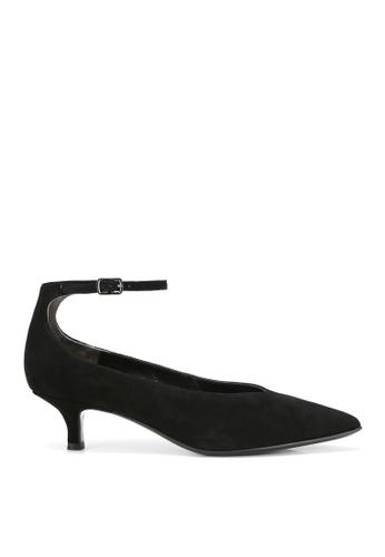 RABEANCO black RABEANCO PARI Kitten Heels - Suede Black C6612SH4F7C58DGS_1