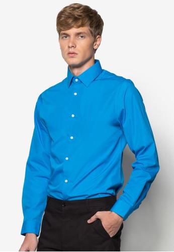 素色長袖襯衫, 服飾esprit 眼鏡, 素色襯衫