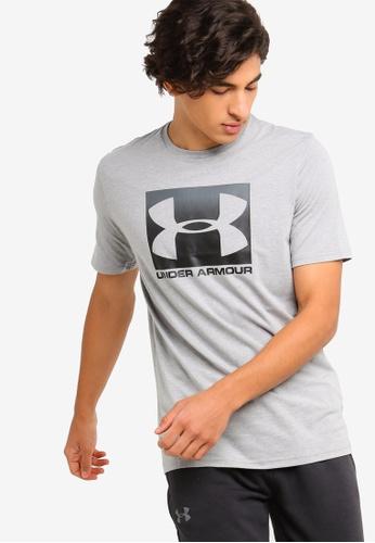 826a3e8935 Under Armour grey UA Boxed Sportstyle T-Shirt 5DD1EAA2B57B6CGS 1