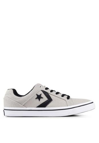 Converse grey EL Distrito Star Eclipse Ox Sneakers B05C2SH6470DE9GS_1