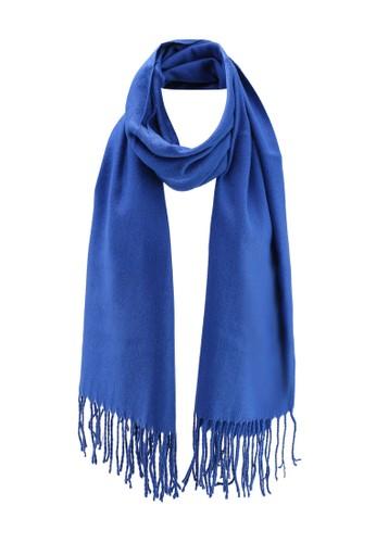 ONLY blue Annali Weaved Scarf FFA3EAC2B9216CGS_1
