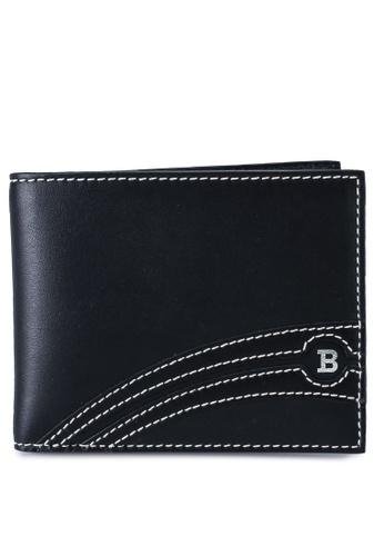 BALLY black Bevye Wallet (oc) 6DCF0AC8F120A1GS_1