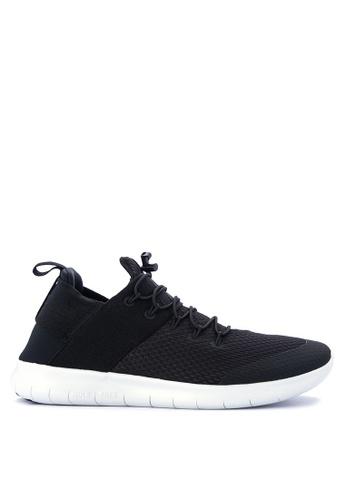 Nike black Men's Nike Free RN Commuter 2017 Running Shoes NI126SH0STSCMY_1