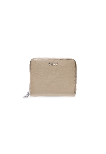 Dkny beige DKNY Women Bryant Zip Around Wallet - Spring & Summer 2021 B02E1ACED76FA6GS_1
