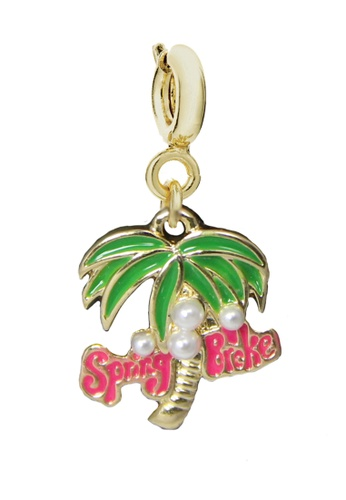 My Flash Trash gold Coconut tree charm 7EBD9AC1CBDA0BGS_1