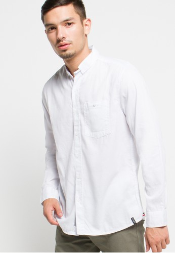 X8 white Quinten Shirt X8323AA24JUTID_1