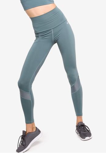 RUNNING BARE SUPPLEX FULL LENGTH TIGHT SIZE 12 BLACK WOMENS GYM FITNESS WEAR