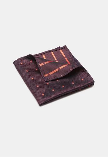 Buckle purple Carnival Spot Pocket Square 02256AC956CF60GS_1