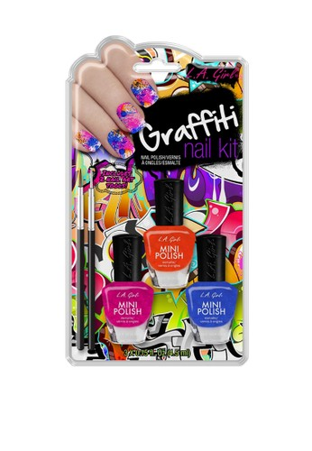 L.A Girl multi LA Girl Nail Art Design Kit Graffiti AE7FEBE761E5F5GS_1