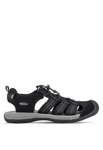Weinbrenner black Strap On Sandals 5DE84SHBC8813DGS_1