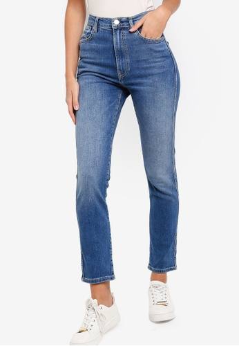 Rabattgutschein neue hohe Qualität Luxus Dua Lipa X Pepe Jeans Collection Betty Mom Fit High Waist Jeans
