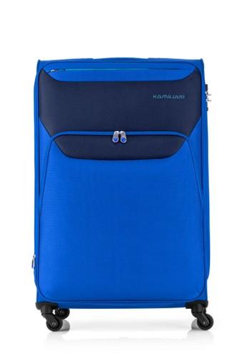 American Tourister blue Kamiliant by American Tourister Koper Soft Case Large Bali CLX Spin (79cm/29inch) TSA - Royal Blue 35BCBACD43428EGS_1