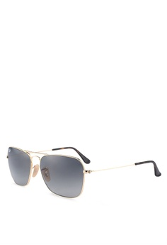 0b269016c0d Ray-Ban gold Icons RB3136 Sunglasses DA922GL88D72F9GS 1