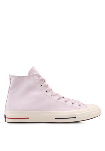 Converse pink and navy Chuck Taylor All Star 70 Hi Sneakers CO302SH0SW7PMY_1