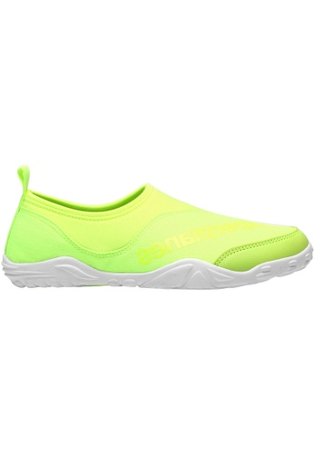 paperplanes green Paperplanes-1362 Mesh Super Light Aqua Slip-Ons Shoes US Women Size PA355SH66QSRSG_1