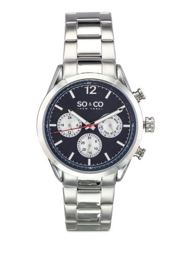 SO&CO silver Monticello Watch 5004 SO540AC0SHLGMY_1