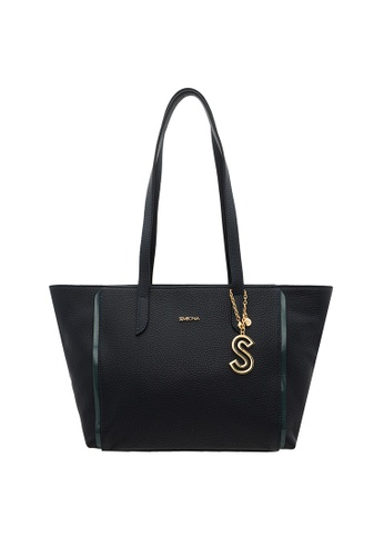 SEMBONIA blue SEMBONIA Full Leather Tote Bag (Dark Blue) SE598AC0SZ8YMY_1