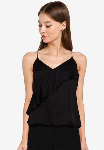 URBAN REVIVO black Casual Top 14681AACAEB66AGS_1