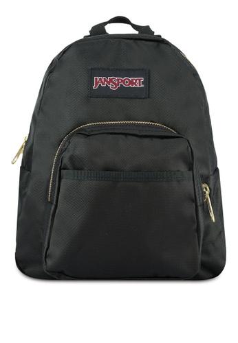 best selection of 2019 color brilliancy later Jansport Half Pint FX Backpack Black/Gold - 10L