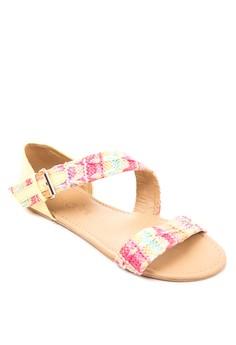 Frankie Flat Sandals