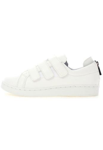 Maxstar Maxstar O2 3 Belts Hidden Heel Back Zipper Canvas Low Top Sneakers US Women Size MA168SH68USDHK_1