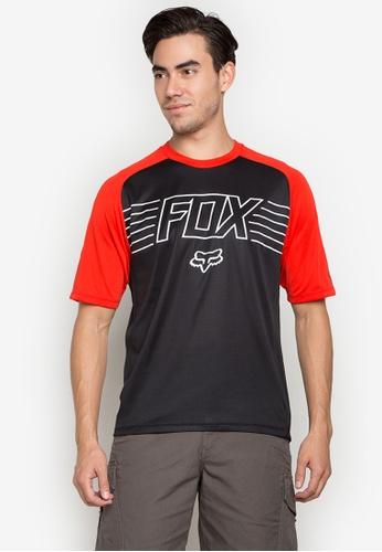 Fox Racing black Ranger Pt Jersey FO276AC0KAAWPH_1