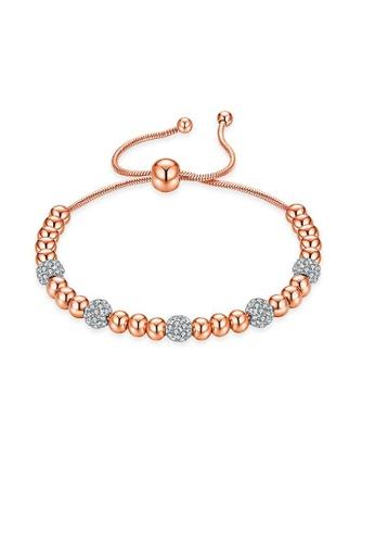 ADORA gold Stainless Steel Bead Bracelet E8B54AC1212D29GS_1