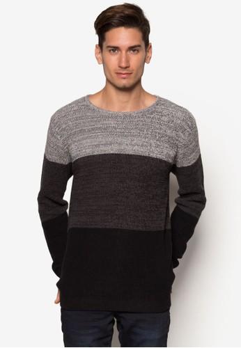 Danny 色塊針織長袖衫esprit 衣服, 服飾, 服飾