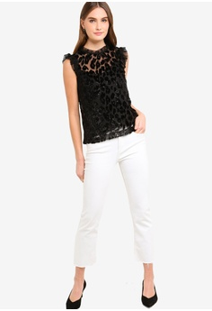 f2f8bba3b21bd3 63% OFF J.Crew Magnitude Leopard Top S  149.90 NOW S  55.90 Sizes 6