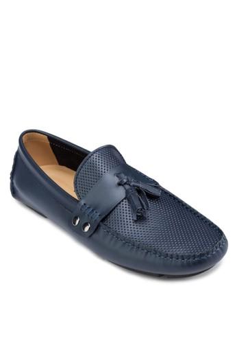 沖esprit童裝門市孔流蘇樂福皮鞋, 鞋, 船型鞋
