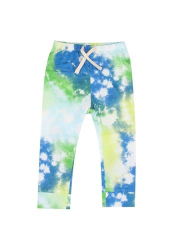 GAP blue Printed Pants 6C7EDKA8220848GS_1