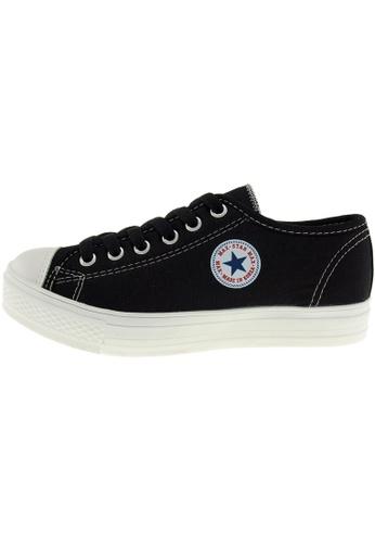 Maxstar Maxstar Women's C1-1 6 Holes Canvas Low Top Casual Sneakers US Women Size MA168SH48CIDHK_1