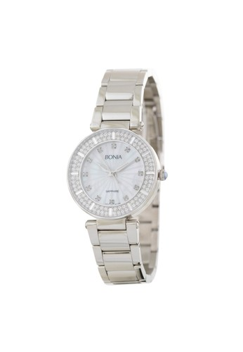 BONIA silver Bonia B10119-2317S - Jam Tangan Wanita - Silver 29024AC34F2927GS_1