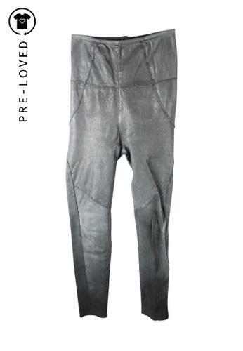 Isabel Marant green Pre-Loved isabel marant Skinny Pants C8559AADBF4384GS_1